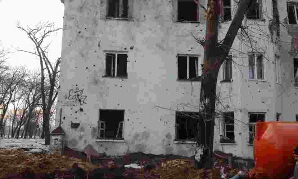 ясиноватая фото разрушений